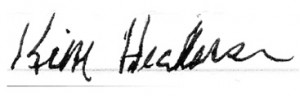 Signature With Alcohol Influence