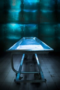 morgue tray