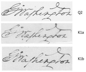 George Washington Signatures